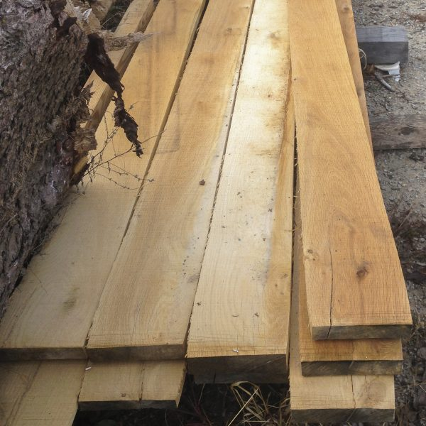 Planking wood (White Oak planks for trailers or trucks)